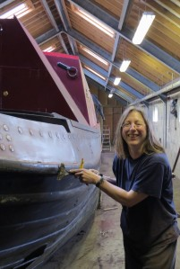 Sally Tooze (Willow Boat Painting)