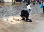 sand street art